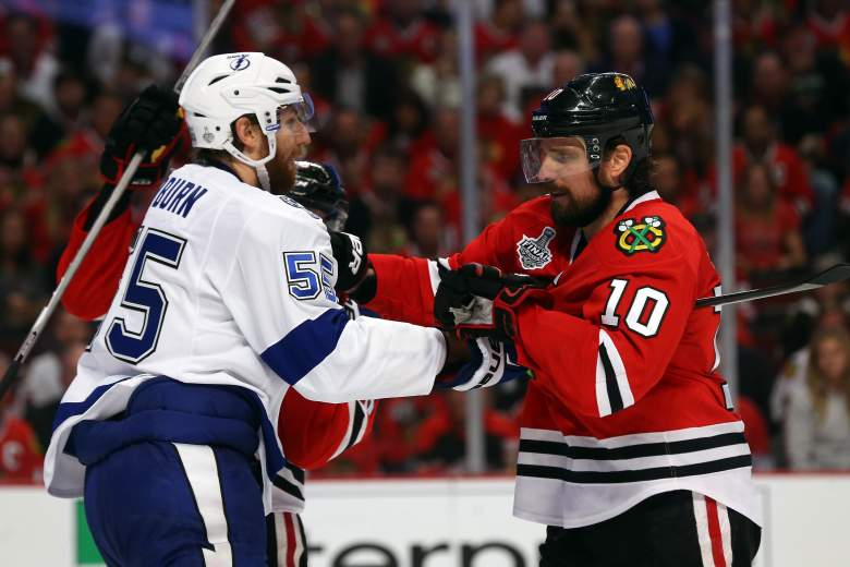 The Lightning and Blackhawks have proved to be evenly matched in the 2015 Stanley Cup Final. (Getty)
