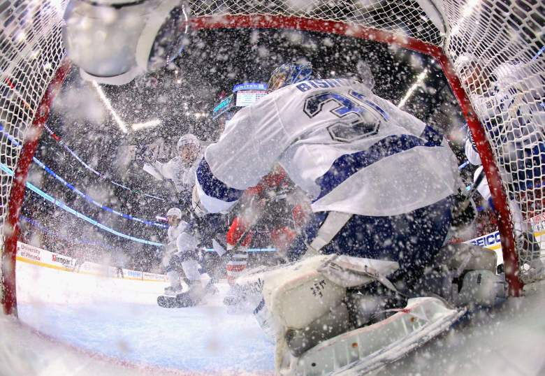 Photo taken during the Stanley Cup Final. (Getty)