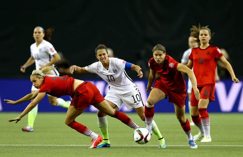 USA and Germany met in a World Cup semifinal Tuesday night. (Getty)