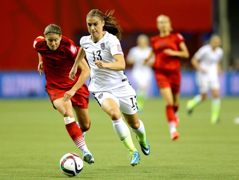 in the FIFA Women's World Cup 2015 Semi-Final Match at Olympic Stadium on June 30, 2015 in Montreal, Canada.