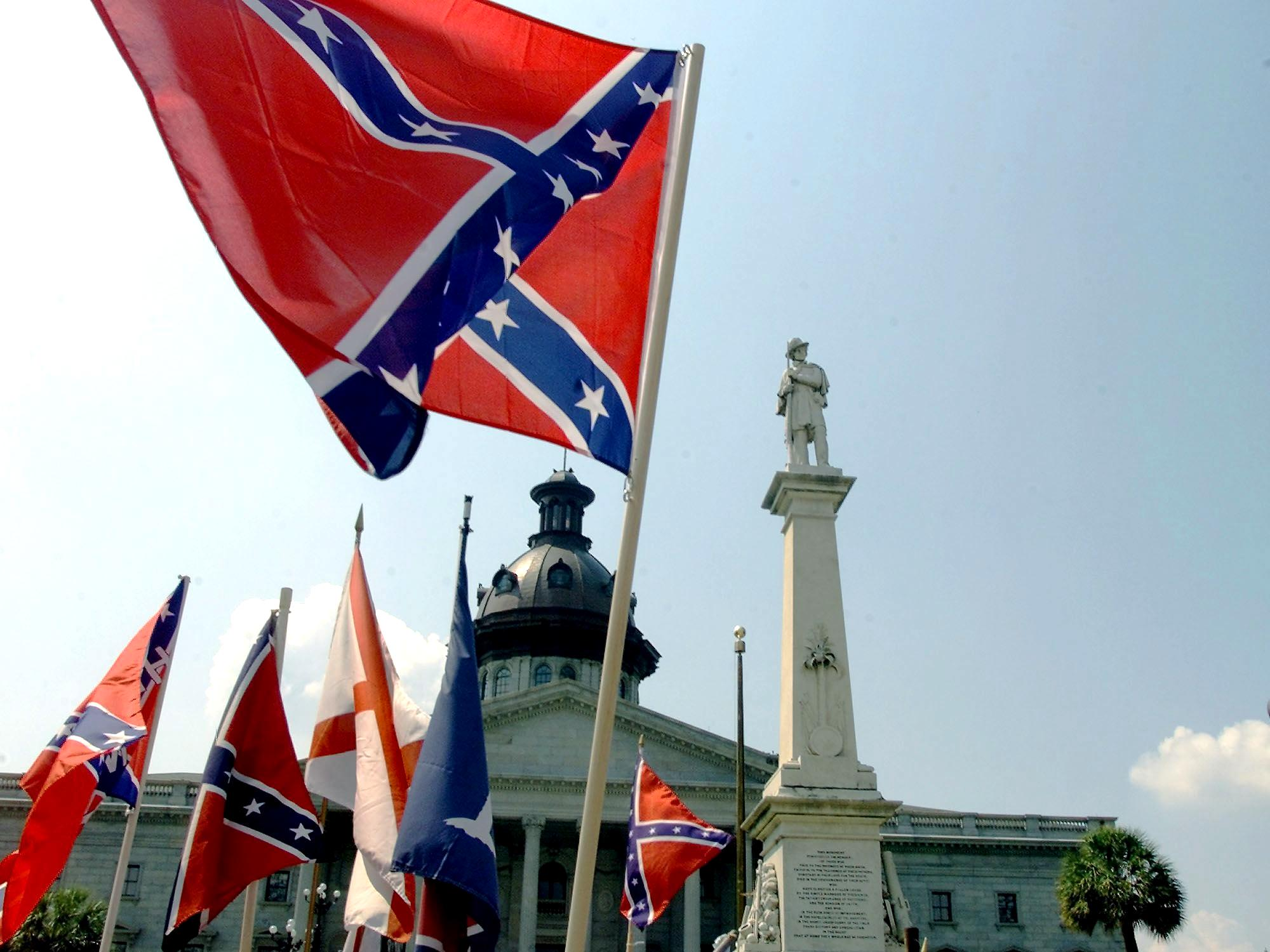 The Confederate flag. (Getty)