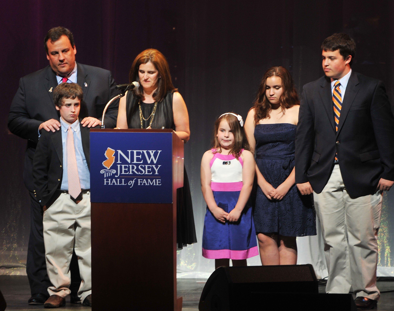 Chris Christie wife, Mary Pat Christie, Chris Christie children, Chris Christie kids