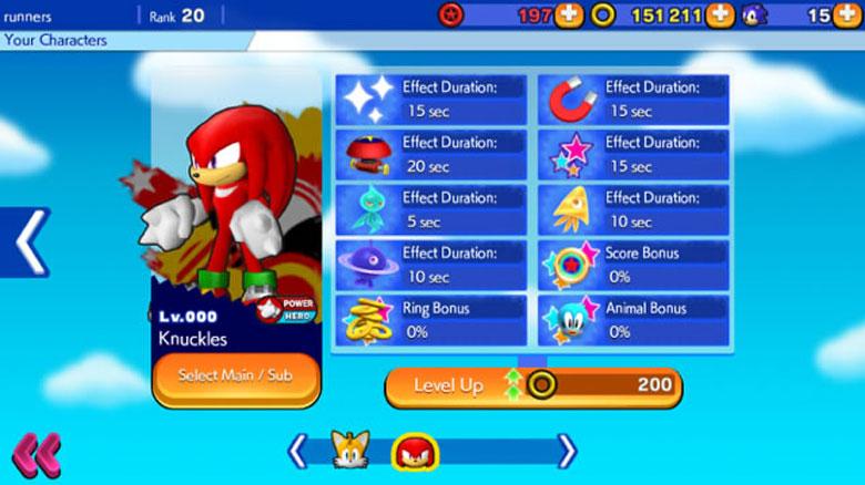 Sonic Runners Tips