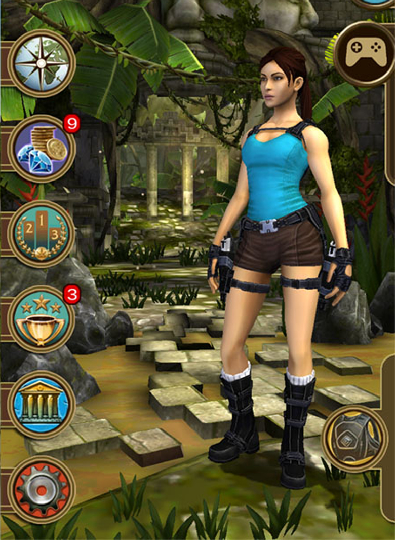 Lara Croft Relic Run Tips