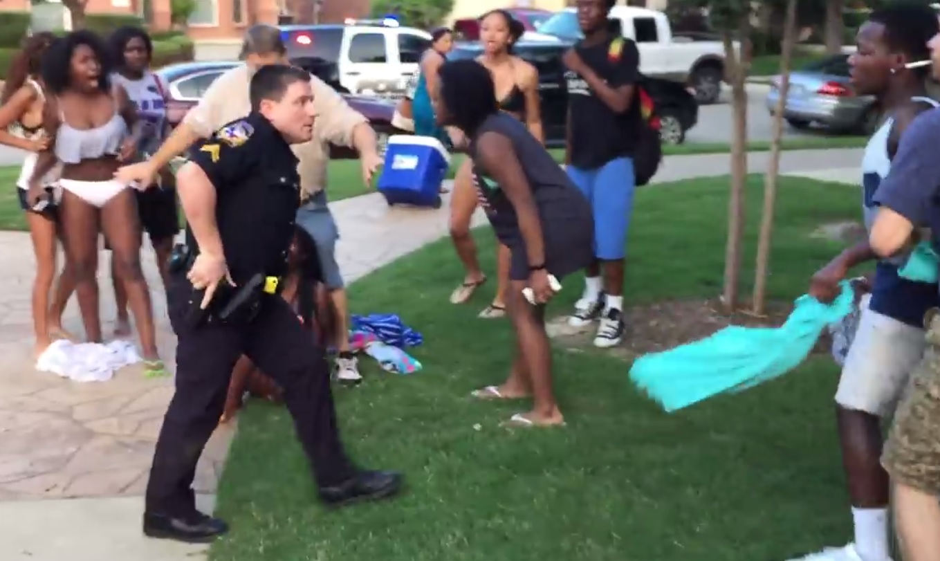 Eric Casebolt, Mckinney texas cop pool party