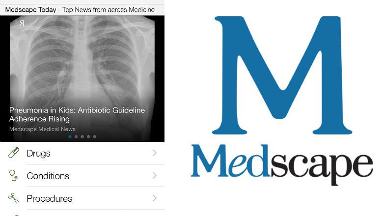 free medical apps, prescription apps, doctor apps, Medscape