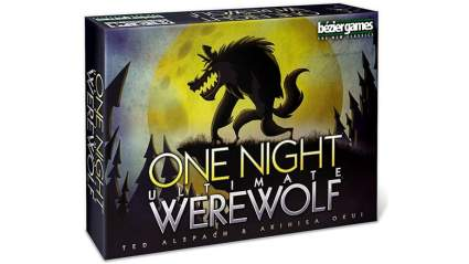 one night werewolf game