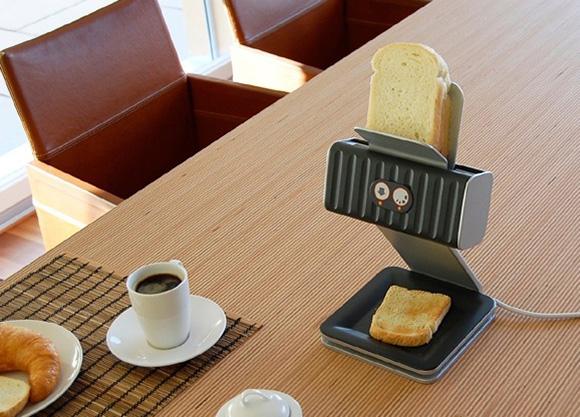 The toast printer.