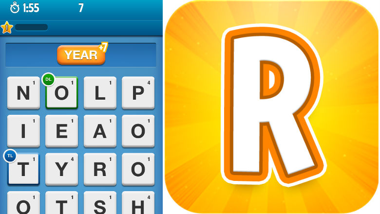 free word games, puzzle games, Ruzzle