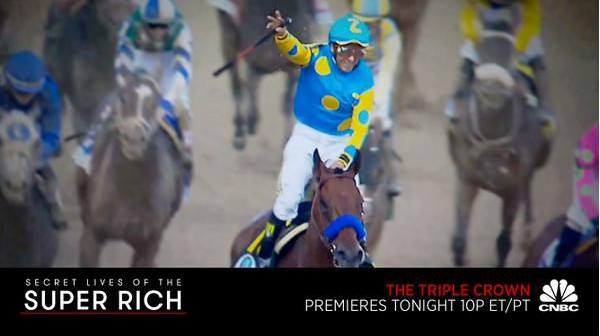 Secret Lives of the Super Rich: Triple Crown documenting the Zayat family and American Pharoahs quest for the Triple Crown airs tonight on CNBC at 10 p.m. ET.