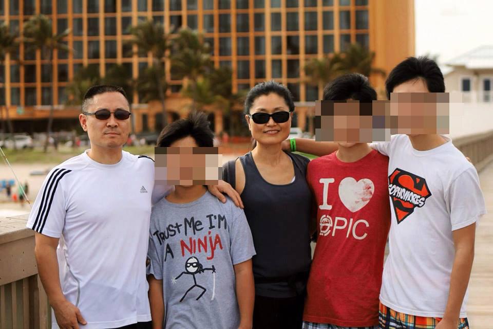 Sonny Kim Family