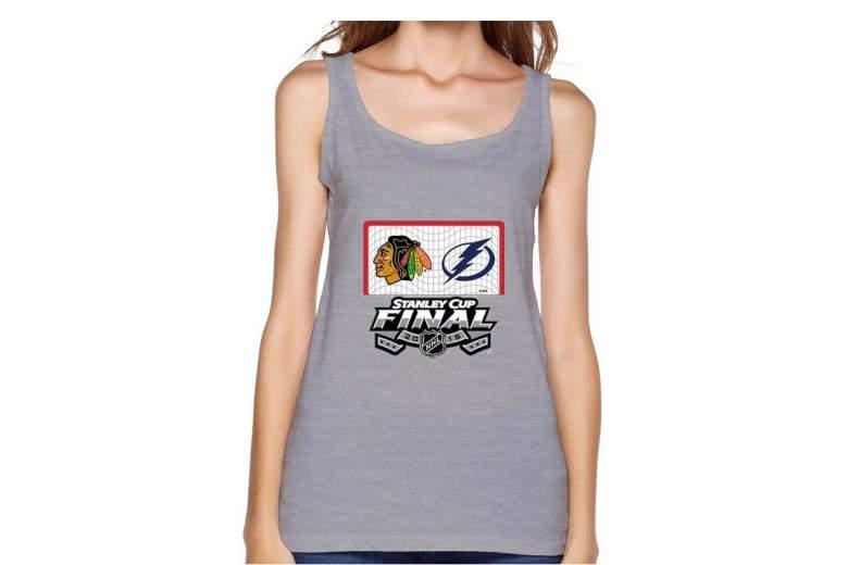 Blackhawks Stanley Cup tank top, Blackhawks women's tank top
