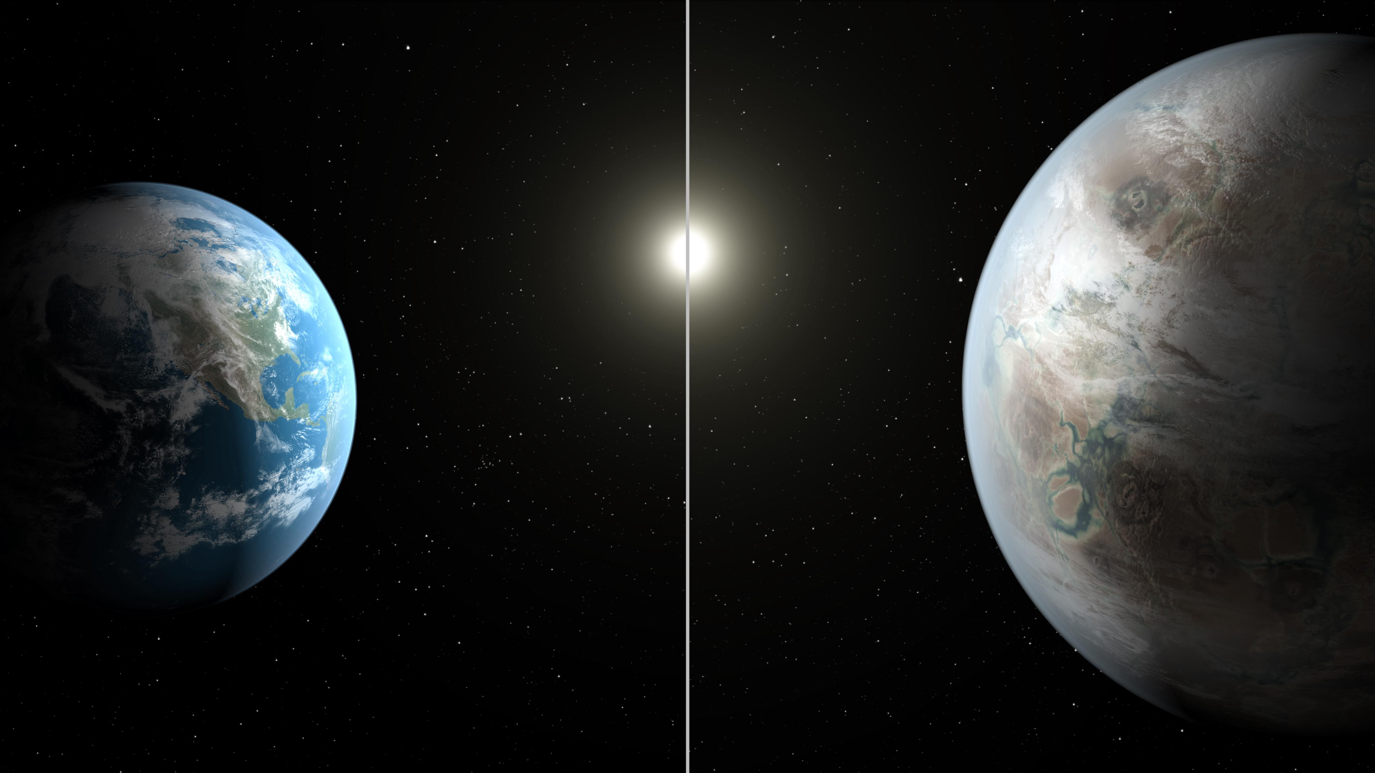 Kepler-452b, earthlike planet