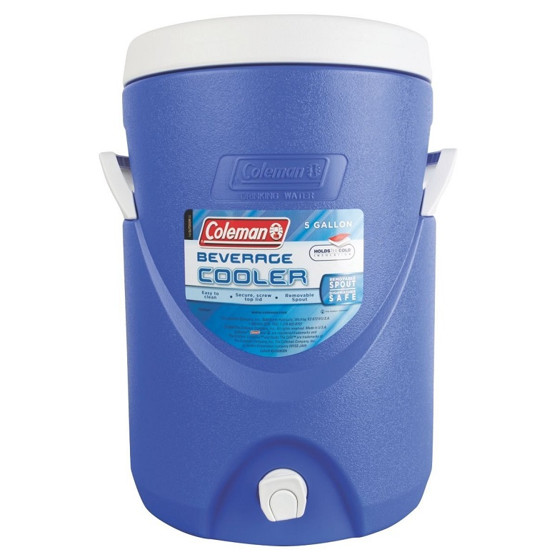 Coleman 5-Gallon Beverage Cooler, coleman beverage cooler, beverage cooler, water cooler