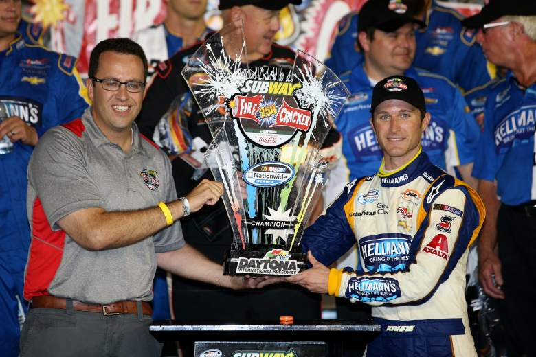 Jared Fogle, Jared Fogle millionaire, Jared Fogle NASCAR
