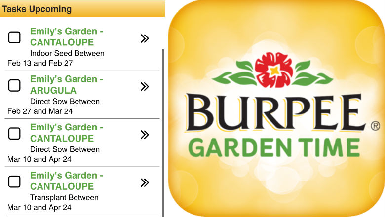 gardening apps, plant apps, seed apps, vegetable garden