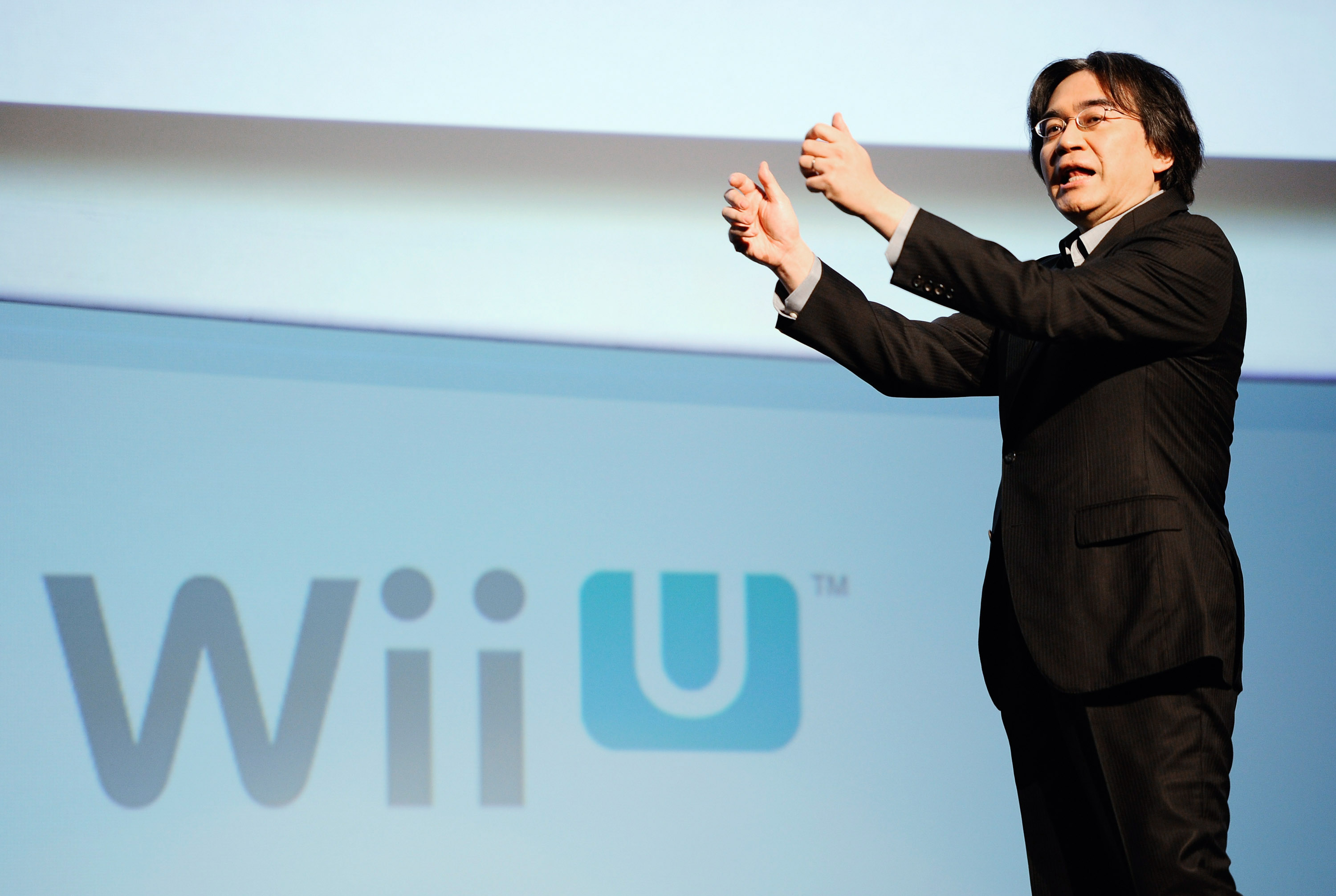 Iwata in 2011. (Getty)
