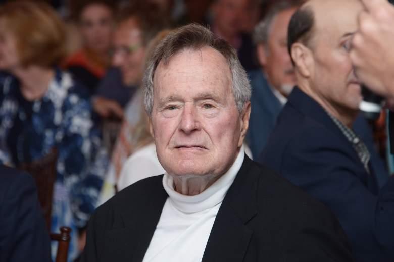 KENNEBUNKPORT, ME - JUNE 12:  Film Subject President George H.W. Bush celebrates his 88th  birthday (Getty)