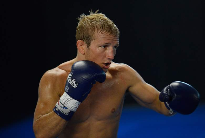 T.J. Dillashaw is in the UFC Fight Night main event vs. Renan Barao. (Getty)