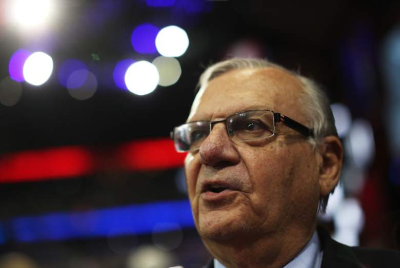TAMPA, FL - AUGUST 29: Maricopa County, Arizona Sheriff Joe Arpaio attends the third day of the Republican National Convention at the Tampa Bay Times Forum on August 29, 2012 in Tampa, Florida. Former Massachusetts Gov. Mitt Romney was nominated as the Republican presidential candidate during the RNC, which is scheduled to conclude August 30. (Photo by Spencer Platt/Getty Images)
