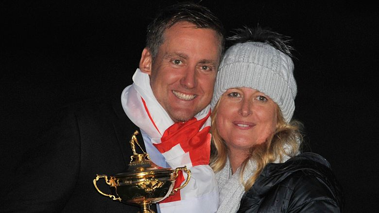 Ian Poulter's wife