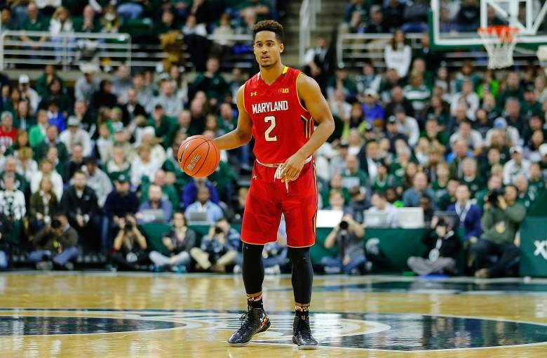 Melo Trimble is the team's youngest player, but he also might be the most talented. (Getty)