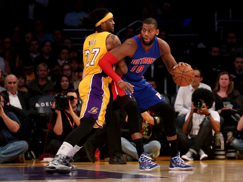 Greg Monroe is being recruited by the New York Knicks. (Getty)