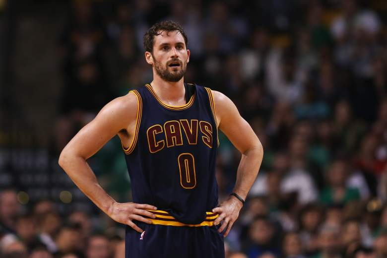 Kevin Love is at the top of Cleveland's list. (Getty)