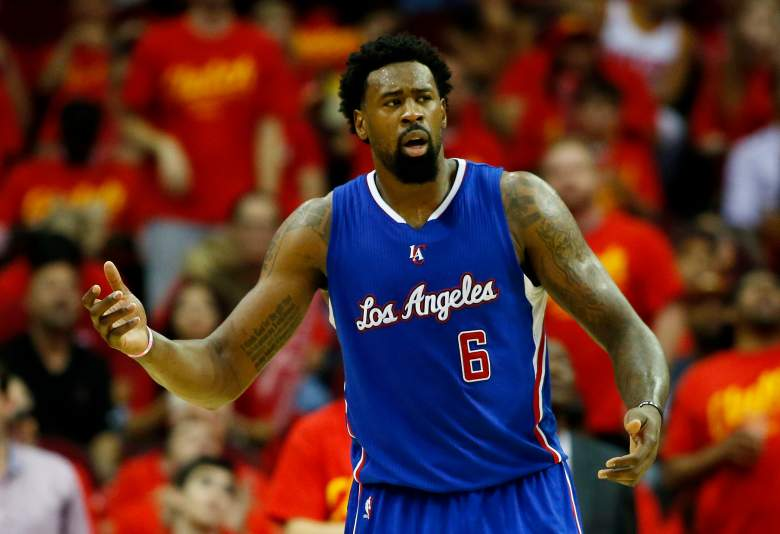 Clippers fans are waiting to see if DeAndre Jordan will re-sign. (Getty)