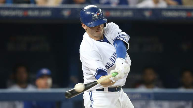 Blue Jays 3B Josh Donaldson has 6 hits in 11 at-bats vs. Chicago's Wednesday starter John Danks. (Getty)