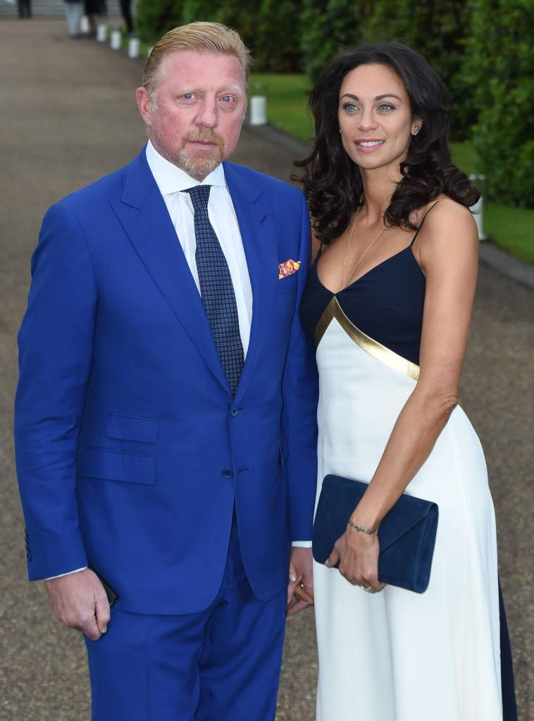 LONDON, ENGLAND - JUNE 22:  Boris Becker and Lilly Becker attend the Vogue and Ralph Lauren Wimbledon party at The Orangery on June 22, 2015 in London, England.  (Photo by Stuart C. Wilson/Getty Images)