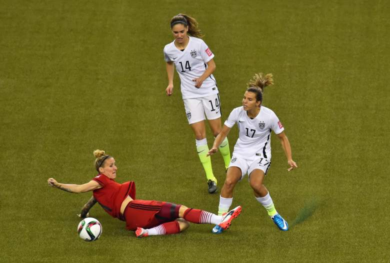Germany and England meet in the Women's World Cup third-place match on Saturday. (Getty)