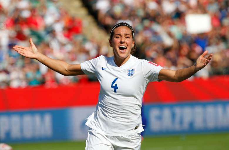 Fara Williams and England face Germany in the third-place match on Saturday. (Getty)