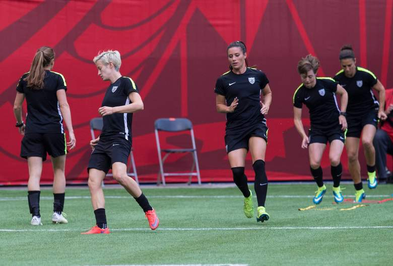The USWNT preps for Japan. (Getty)