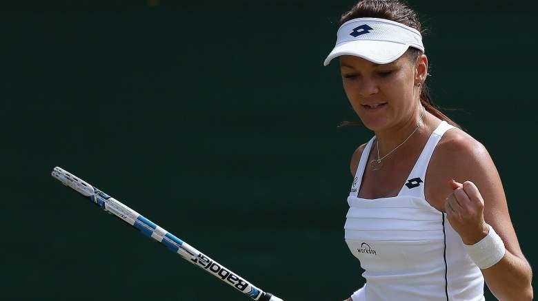 Agnieszka Radwanska, who advanced to the 2012 Wimbledon final, will look to return there when she battles up-and-coming star Garbine Muguruza. (Getty)