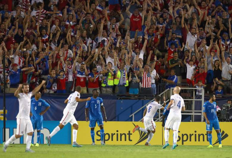 The US is coming off a 2-1 victory against Honduras. (Getty)