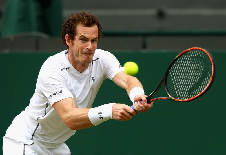 Andy Murray takes on Roger Federer in a Wimbledon semifinal on Friday. (Getty)