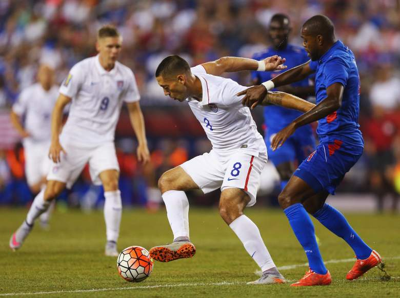 Clint Dempsey has been on fire for Team USA. -Getty