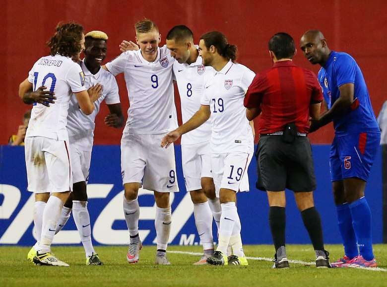 The USMNT is headed to the semifinals. -Getty