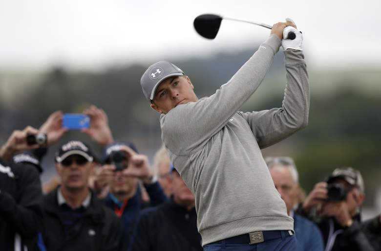 Jordan Spieth is looking for his third consecutive major victory of 2015. (Getty)