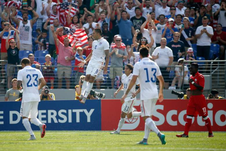The USMNT are headed to the Gold Cup Semifinals. (Getty)