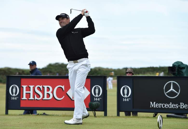 ST ANDREWS, SCOTLAND - JULY 19:  Padraig Harrington of Ireland tees off on the 11th hole during the third round of the 144th Open Championship at The Old Course on July 19, 2015 in St Andrews, Scotland.  (Photo by Stuart Franklin/Getty Images)