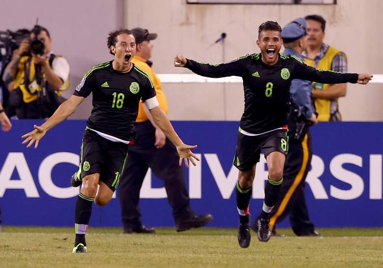 Mexico faces Jamaica in the 2015 Gold Cup Final.