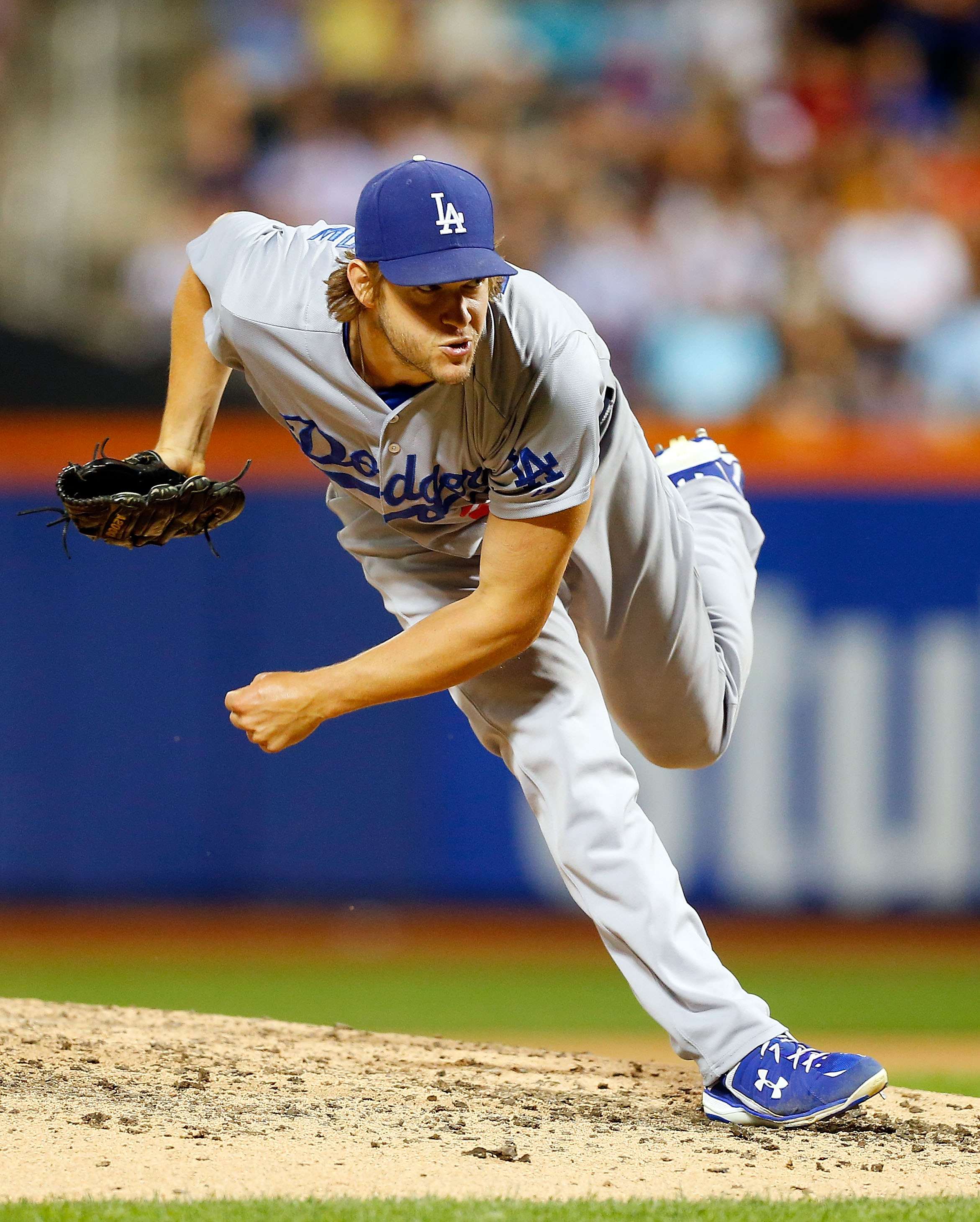 Kershaw is a must-start in tonight's lineup (Getty).