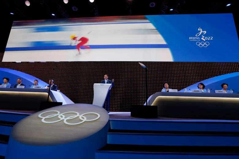 Olympic Bid Announcement (Getty)