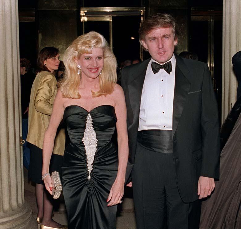 Donald Trump Ivana Trump Marriage