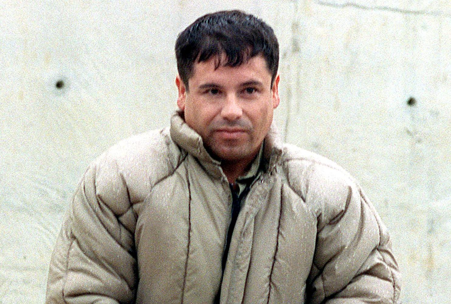 """""""El Chapo"""" in 1993. Getty"""