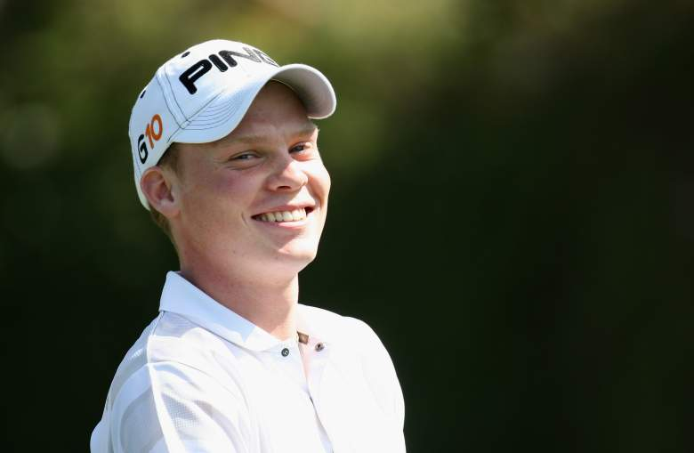 MARBELLA, SPAIN - MARCH 27:  Danny Willett of England the number one ranked amature in the world on the 1st tee during the first round of the Open de Andalucia at the Aloha Golf Club on March 27, 2008 in Marbella, Spain.  (Photo by Ross Kinnaird/Getty Images)