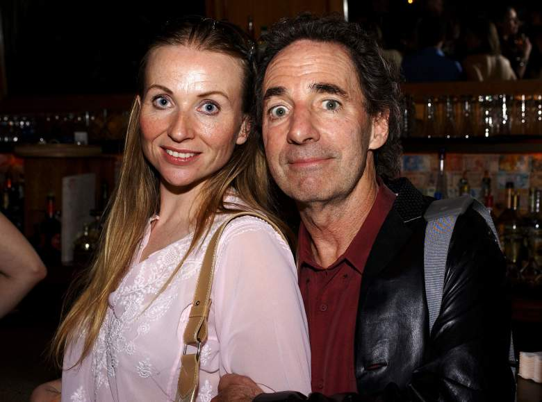 Harry Shearer with his wife, Judith Owen (Getty)