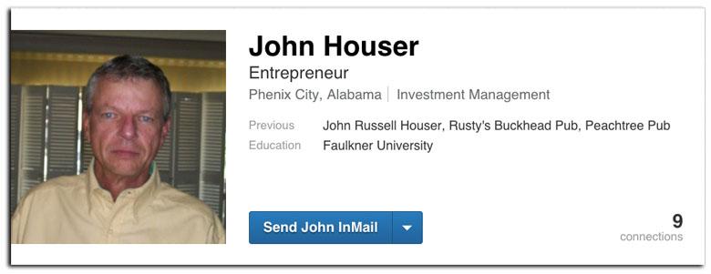 John Russell Houser, Rusty Houser